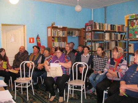 Собрание для приёмных родителей Чердатского сельского поселения